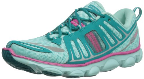 Brooks G Pure Flow, Basses fille, Vert - Aqua Splash/Tile Blue/Silver/Rose Violet/Black, 36