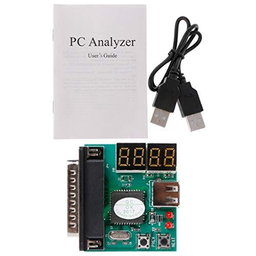 BIlinli 4 dígitos Código PCI Tarjeta PC Analizador de Placa Madre Diagnóstico Post Tester para portátil/PC