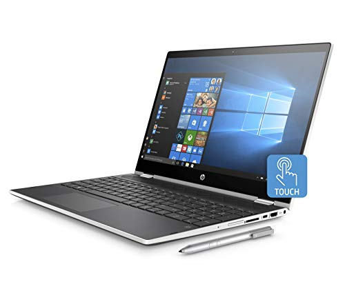 HP Best Performance 15.6' FHD Convertible Touschscreen 2-in-1 Laptop Core i3-8130U Up to 3.4GHz 20GB (4GB DDR4+16GB Optane) Memory 1TB HDD HP Digital Pen, Backlit Keyboard Windows 10