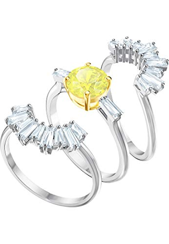 Swarovski Damen-Ringe Edelstahl Kristall '- Ringgröße 55 5459595