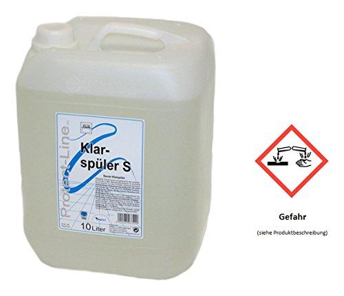 Klarspüler S Protect Line für gewerbliche Geschirrspülmaschinen 10 l Kanister
