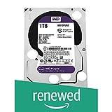 Western Digital Purple 1 TB Surveillance Hard Disk Drive Intellipower 3.5' SATA 6 Gb/s 64 MB Cache 5400 rpm (Reacondicionado)