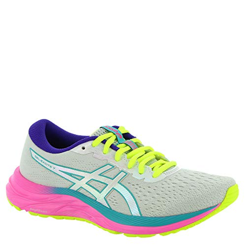 ASICS - Womens Gel-Excite 7 Sneaker, Size: 8 B(M) US, Color: Polar Shade/White