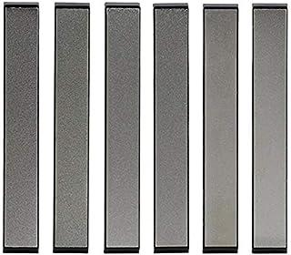 Tuneway 6 Unids/Set de Afilador Profesional de Cuchillo de Diamante Set MáQuina de áNgulo Fijo para Afilar Cuchillos Piedra de Moler de Cocina