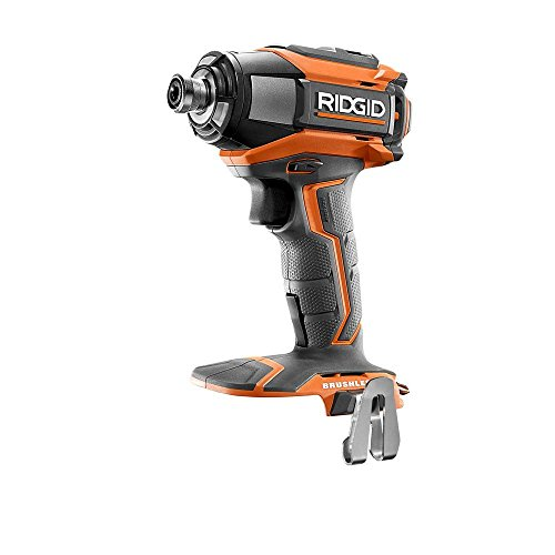 Ridgid R86037 18V Lithium Ion Cordless Brushless Impact Driver w/ LED Lighting and Quick-Eject Chuck (Battery Not Included / Power Tool Only)
