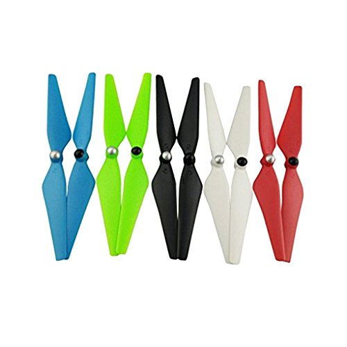 freneci 5 Pares de Hélices Quadcopter 9450 5 Hojas de Colores para dji Phantom 1/2/3 / Pro
