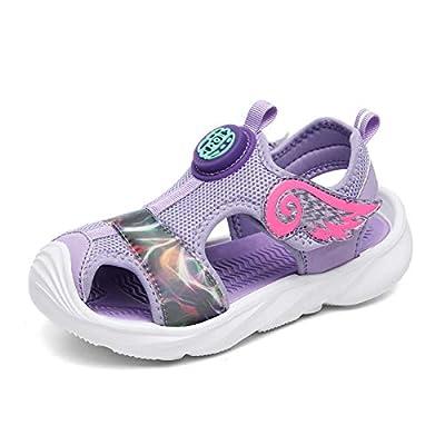 UBFEN Girls Sandals Summer Outdoor Beach Shoes ...