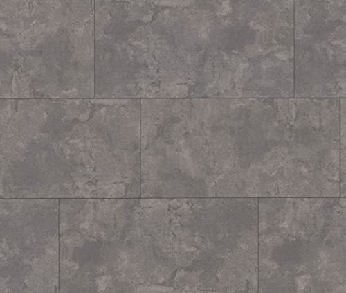 HORI® Klick-Vinylboden Steinfliese Bielefeld Beton hell mit Microfase I für 22,17 €/m²