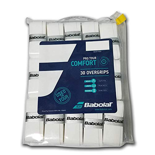Babolat Pro Tour X30 Accesorio Raqueta de Tenis, Unisex Adulto, Blanco, Talla...