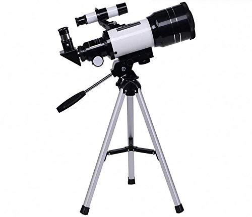 GYAM Telescopio Astronómico, Telescopio Refractor Monocular 150X,con Un Buscador De Estrellas para Niños Y Principiantes En Astronomía, Equipado con Un Clip De Fotos Y Autodisparador Bluetooth