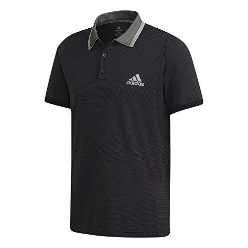 adidas T Freelift Camiseta, Reloj Negro y Gris, S para Hombre