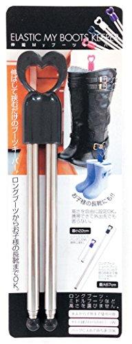 トレードワンブーツキーパーピンク3.8×1.5×22~64cm伸縮MYブーツキーパー10419