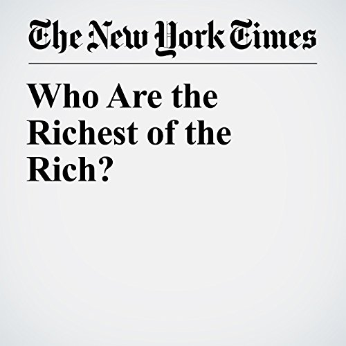 Who Are the Richest of the Rich? audiobook cover art