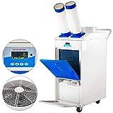 VEVOR YDH-4500 Industrial Air Cooler, 12000 BTU/H R410A Commercial Air Cooler 700m³/h Compressor refrigeration, 220V 60Hz Portable Air Cooler w/Air Filter for Industrial Commercial Server Air Cooling