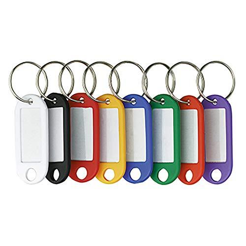 Preisvergleich Produktbild ALCO Schlüsselanhänger mit besch riftb.Etiketten or BTL 10St 185319