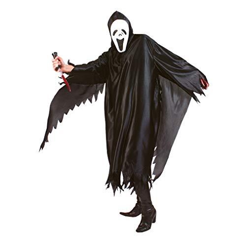 TrendClub100® Screaming Ghost schreiender Geist Halloween Kostüm für Erwachsene