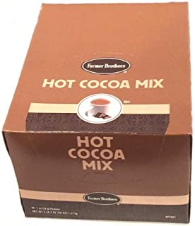 Farmer Brothers Hot Cocoa Mix, 50 Individual Packets