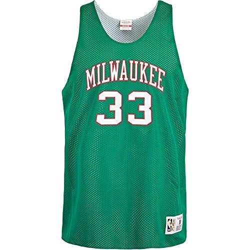 Mitchell & Ness Kareem Abdul Jabbar Milwaukee Bucks - Camiseta de tirantes...