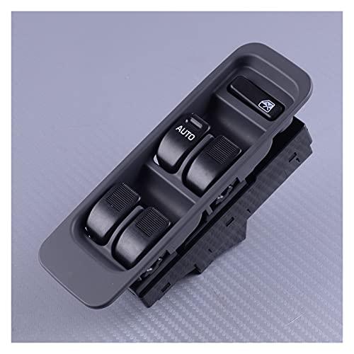 CMEI Panel de control maestro del conductor de la ventana eléctrica negro para Daihatsu Sirion M100 YRV Mira L500
