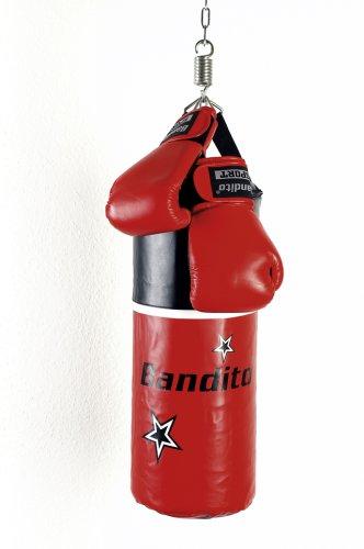 Bandito Boxsackset Junior, rot/schwarz, 60x25 cm