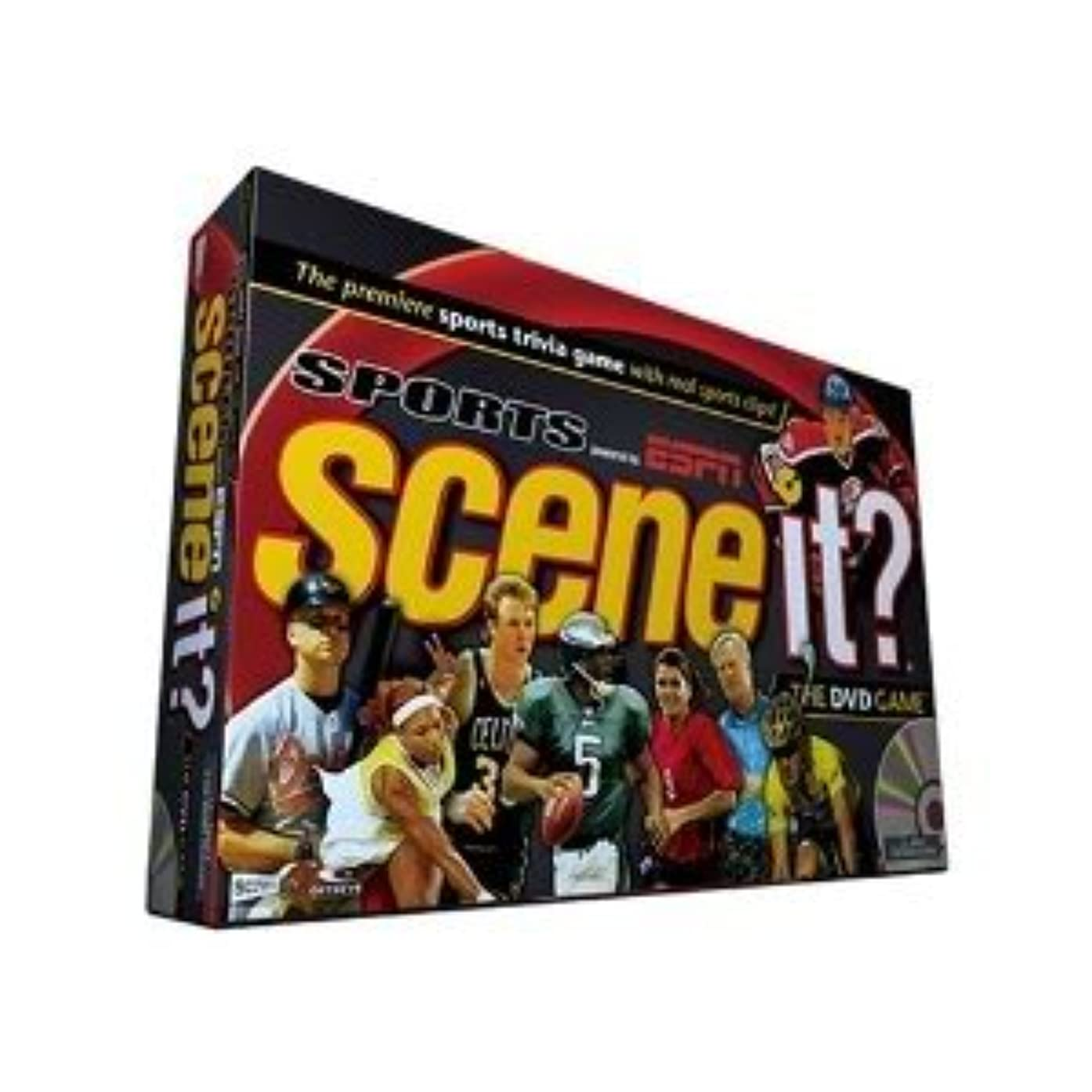 Toy / Game Scene It? Sports Powered By Espn With Movie Clips And On-Screen Challenges - For The Ultimate Fan! by 4KIDS