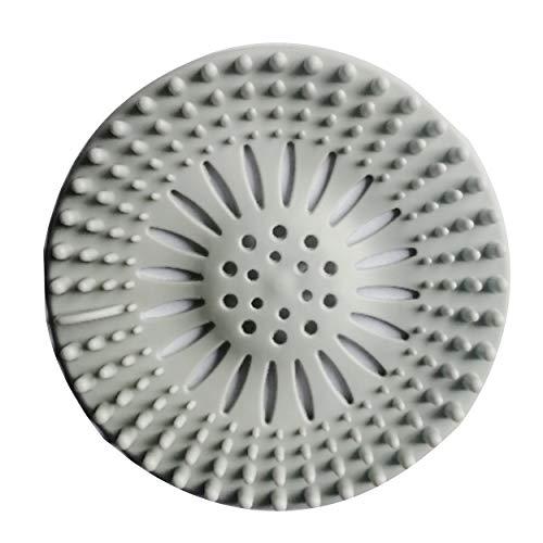 WMYWBYT Tapacubos de drenaje para el suelo redondo de la cubierta del tapón del filtro de agua de la ducha del drenaje cubre el colador del fregadero filtro tapón de pelo