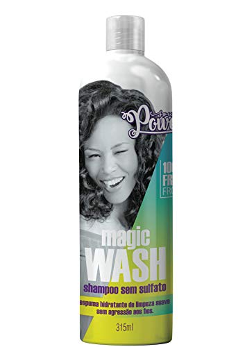 Shampoo Uso Diário 315Ml sem Sulfato Magic Wash Unit, Soul Power