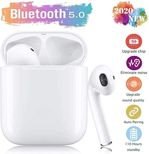 Bluetooth-Kopfhörer,kabellose Touch-Kopfhörer HiFi-Kopfhörer In-Ear-Kopfhörer Rauschunterdrückungskopfhörer,Tragbare Sport-Bluetooth-Funkkopfhörer,Für Android/iPhone/Samsung/Alle Bluetooth-Headsets
