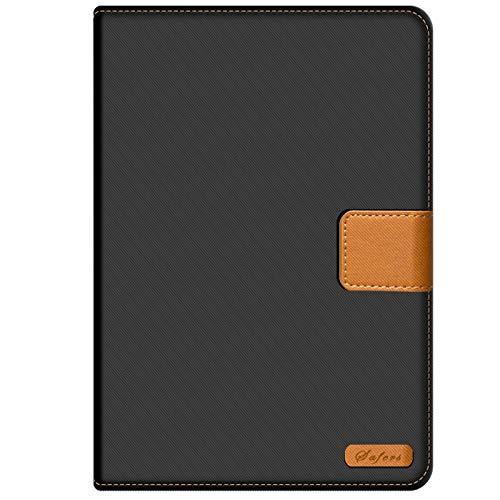 Verco Hülle für Huawei Mediapad M5 - M5 Pro, Schutzhülle Tablet Tasche Standfunktion Cover PU Leder [10,8 Zoll], Schwarz - 2