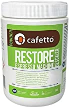 Cafetto Restore Organic Descaler and Cleaner - Universal Descaling Solution for Keurig, Nespresso, Dolce Gusto, Verismo and All Single Use Coffee and Professional Espresso Machines - (2.2lbs/36oz)