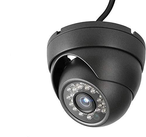 Dericam Outdoo Überwachungskamerar Dome,4MP Kamera HD 2K, 4 in 1 Überwachungskamera, HDCVI, HDTVI, AHD, 960H, IP66 Metallgehäuse, 24 LEDs 25fts Nachtsicht, 85 Grad Betrachtungswinkel, PAL, Schwarz