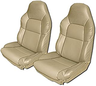 Chevy Corvette C4 STANDARD(BASE) 1994-1996 BEIGE Artificial leather Custom Made Original fit seat cover
