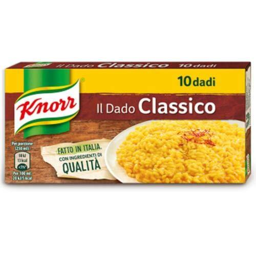 6x Knorr classico dado brodo Suppenwürfel Brühe klassisch reich an Geschmack