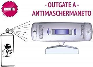 Sensore Infrarossi a tenda da esterno BIANCO doppia tecnologia ANTIMASCHERAMENTO - SIRSEN OUTGATE A