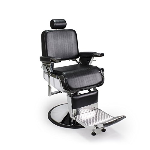 Heavy Duty All Purpose Hydraulic Recline Barber Chair Shampoo 360 Swivel Professional Vintage Salon ...