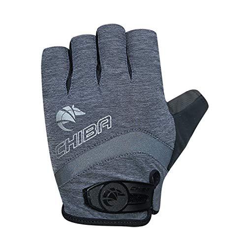 Chiba BioXCell Damen Fahrrad Handschuhe kurz grau 2021: Größe: S (7)