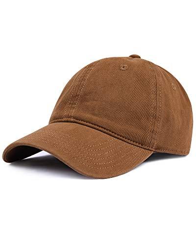FURTALK Baseball Cap Unisex Vintage Kappe Herren Damen Basecap im Washed Verstellbare Sonnenhut Baumwolle Baseball Mütze