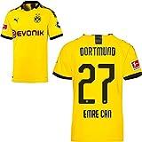 PUMA Borussia Dortmund BVB Heimtrikot 2019 2020 Home Trikot Sponsor BL Logo Herren Emre Can 27 Gr XXL