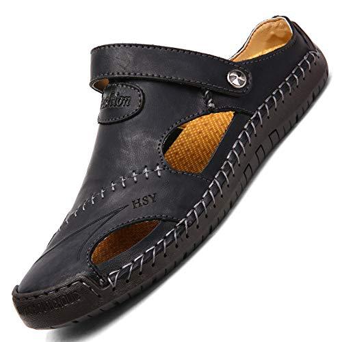 WTFYSYN Piscina de Gimnasio Zapatillas,Zapatillas de Hombre de Gran tamaño, Suela Suave...