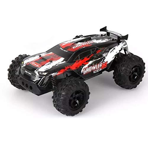 IIIL 1:14 Coche Teledirigido, 2WD RC Car, 2.4Ghz Electric Car Off-Road Monster Truck para Niños Y Adultos Mejor Regalo Cumpleaños,Rojo