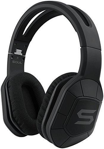 Soul Combat+ Ultimate Active Performance Over-Ear Headphones (Storm Black)