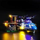 icuanuty Kit de Iluminación LED para Lego 60173, Kit de Luces Compatible con Lego City Police Montaña Arresto (No Incluye Modelo Lego)