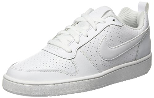Nike Court Borough Low, Zapatillas de Baloncesto para Hombre, Blanco (Blanco), 46