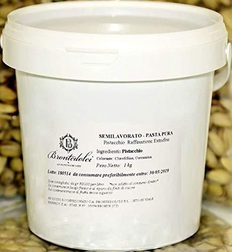 Brontedolci - Pâte Pur 100 % de Pistache - Pistache Verte Etna 1KG