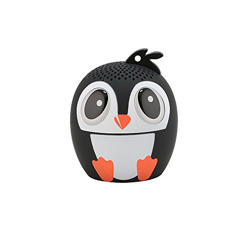My Audio Pet Mini Bluetooth Animal Wireless Speaker with Powerful Rich Room-Filling Sound - 3W Audio Driver Remote Selfie Function (Ice Ice Baby)