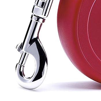 Flexi Laisse rétractable classique Rouge Taille XL 3m 12kg