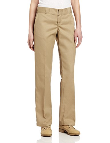 Dickies Women's Original 774 Work Pant, Khaki, 22 Regular