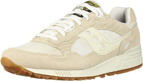 Saucony Men's Shadow 5000 Sneaker, tan/white, 7 M US