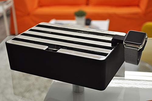 All-Dock ALLDOCK Medium Black/Chrome Special Edition Ladestation