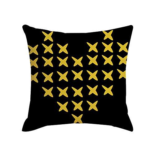 GREENLANS-1 Funda de cojín con diseño de Hojas de Cebra, para sofá, Cama, decoración